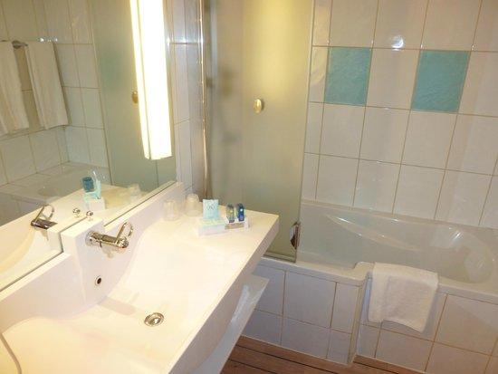Novotel Lisboa: salle de bains
