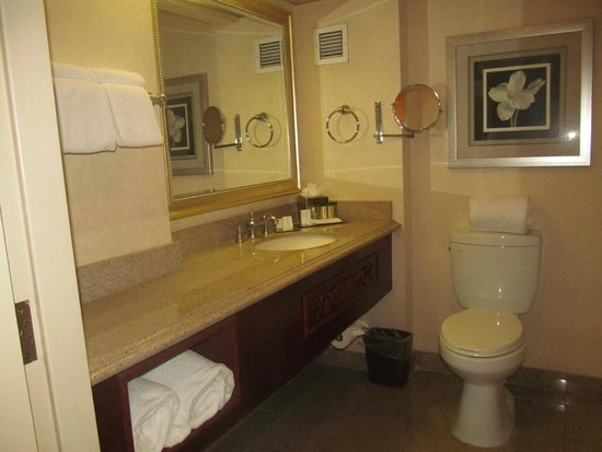 DoubleTree by Hilton Hotel Los Angeles - Norwalk: bathroom...large counter