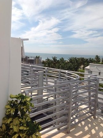 Z Ocean Hotel South Beach: Penthouse view