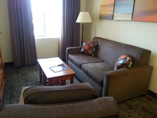 Staybridge Suites Chattanooga Downtown : Very comfy sofa and chair....