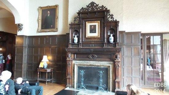 Casa Loma: Main floor fireplace