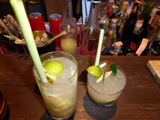 Six Senses Yao Noi: they use lemongrass instead of plastic straws