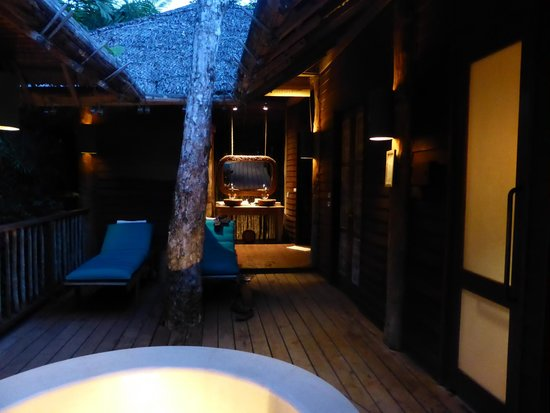 Six Senses Yao Noi: The nice private steam/sauna area