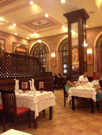 Hotel Riu Guanacaste : La Toscana: menú limitado, difícil conseguir lugar