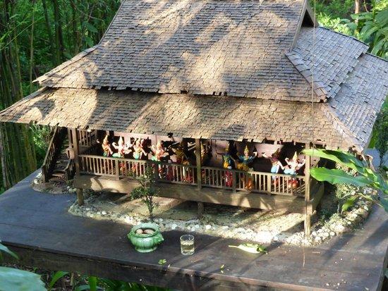 Six Senses Yao Noi : A miniature of our villa for the familiar spirit
