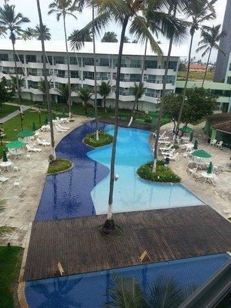 Ancorar Flat Resort: Piscina, vista do apartamento