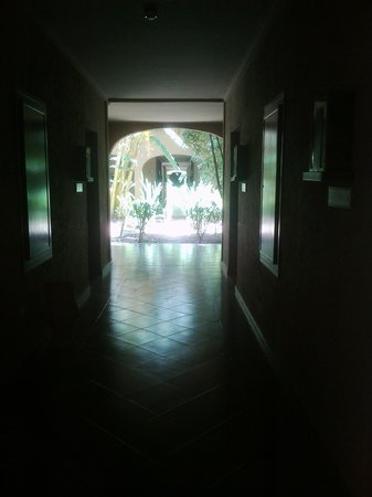 ClubHotel Riu Tikida Palmeraie: Lots of vegetation in the corridors to rooms