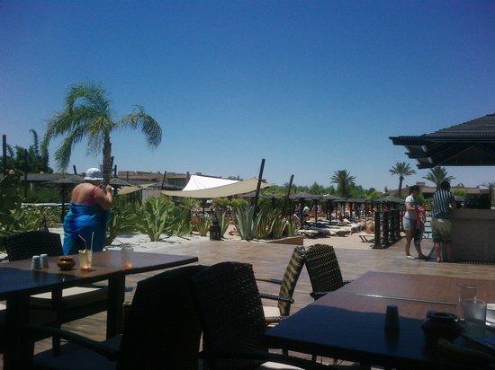 Hotel Riu Tikida Palmeraie : It's hot, hot, hot!