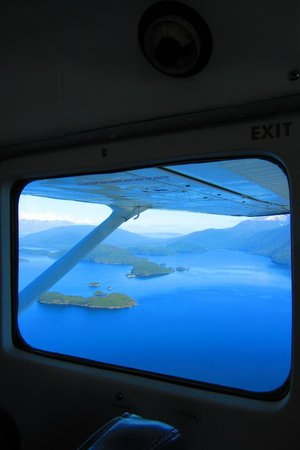 Fly Fiordland : View of the Lake