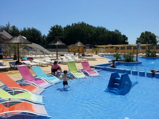 Camping Le Pearl Village Club : Pataugeoire