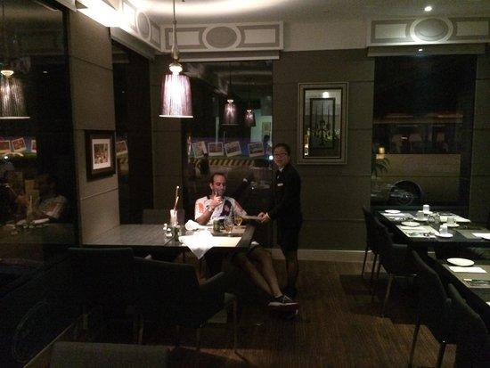 Portofino Italian Restaurant: Good friend.