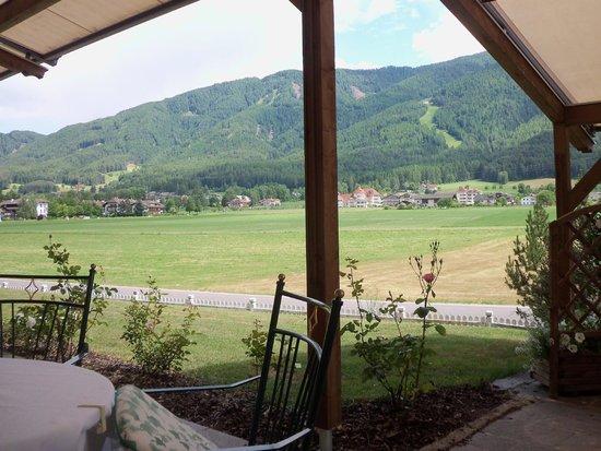 Das Majestic: Sulla terrazza dell'albergo