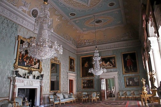Saltram (National Trust): Inside Saltram house
