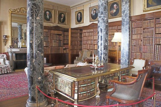Saltram (National Trust): The Library