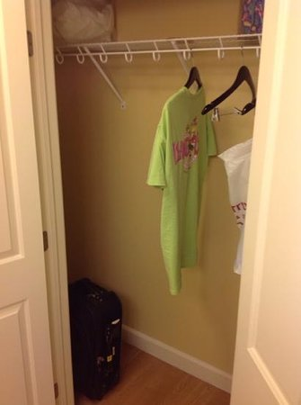 TownePlace Suites Redding: see?  its the closet!!