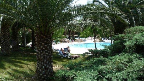 Teos Village: Blick auf den Pool.