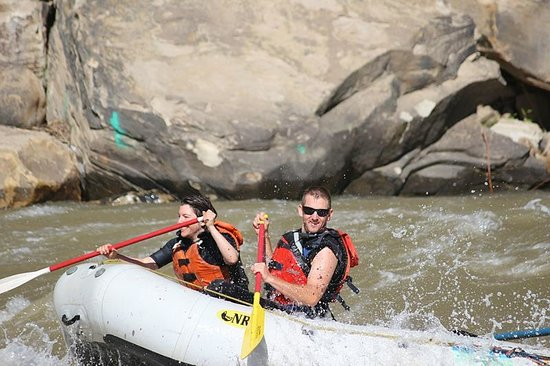 Mild to Wild Rafting and Jeep Trail Tours: Smile for the camera