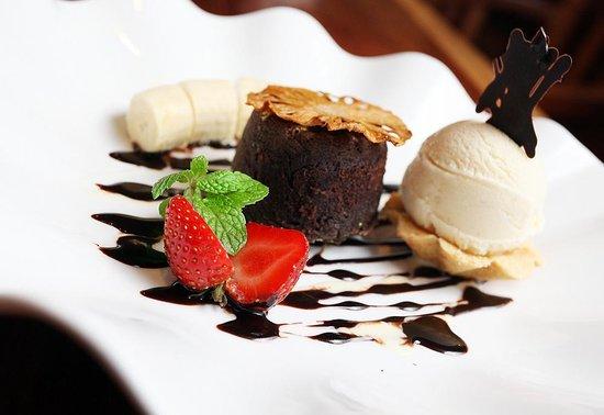 Square Restaurant : Fallen Chocolate cake