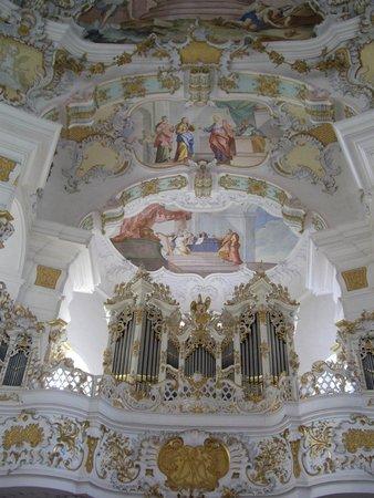 Wieskirche: Орган