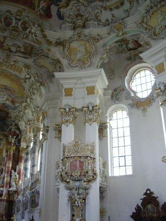 Wieskirche: Колонна