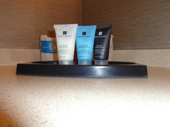Crowne Plaza Los Angeles International Airport Hotel : toiletries