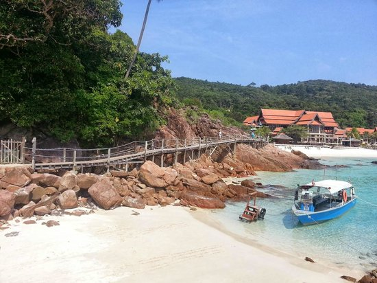 Coral Redang Island Resort: Entrance