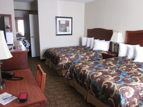 Tropicana Inn & Suites : 客室