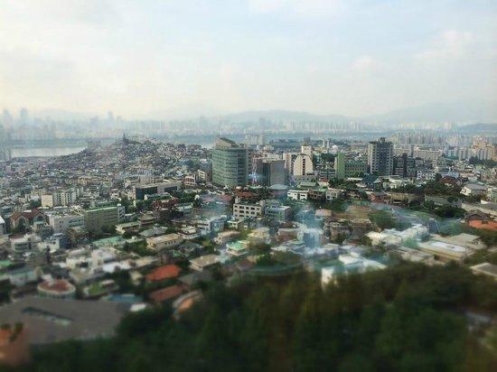 Grand Hyatt Seoul: View from my room :)
