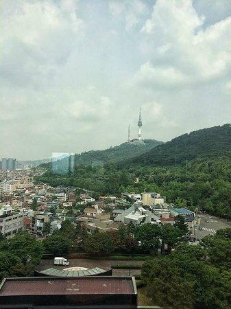 Grand Hyatt Seoul : View from lift lobby