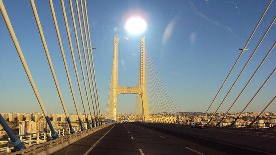 Vasco da Gama Bridge : Ponte Vasco da Gama!