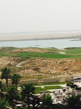 Staybridge Suites Abu Dhabi Yas Island : View from balcony over Yas Links