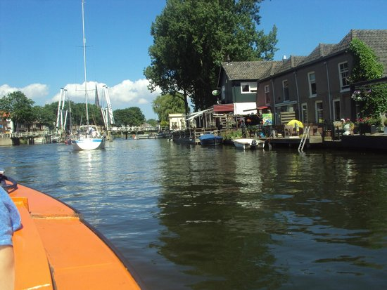 Weesp, The Netherlands: river again
