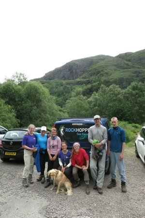 Rockhopper Sea Kayaking - Day Tours: End of trip and leaving Glen Nevis
