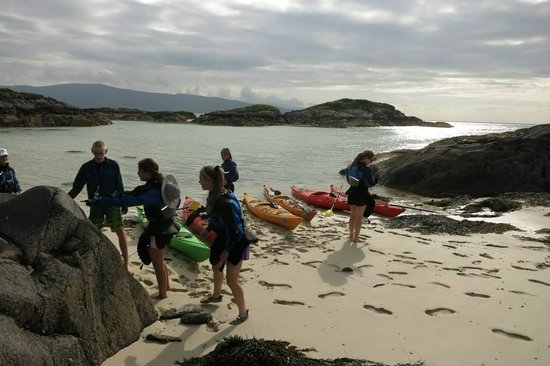 Rockhopper Sea Kayaking - Day Tours: Checking out the surroundings