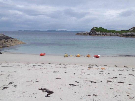 Rockhopper Sea Kayaking - Day Tours: An amazing stop on kayak excursion