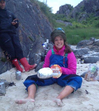 Rockhopper Sea Kayaking - Day Tours: Jiffy Pop, take one.