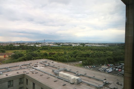 Clayton Hotel Dublin Airport: View from the room