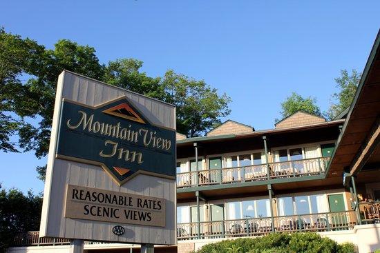 The mountain view inn picture of mountain view inn lake for Mt vista cabina e motel