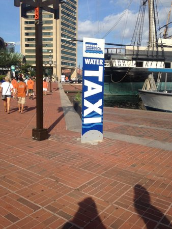 Baltimore Water Taxi: Fun!