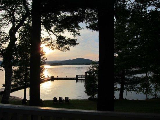 The Woods Inn: Sunset