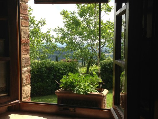Agriturismo Nobile : Another view from our apartment