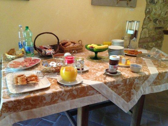 Agriturismo Nobile: Scrumptious breakfast
