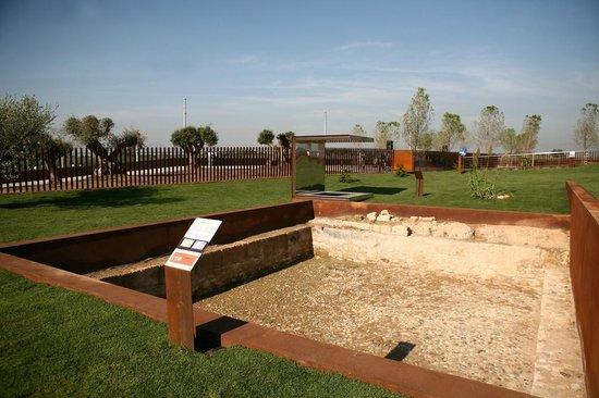 Archaeological park in Salou