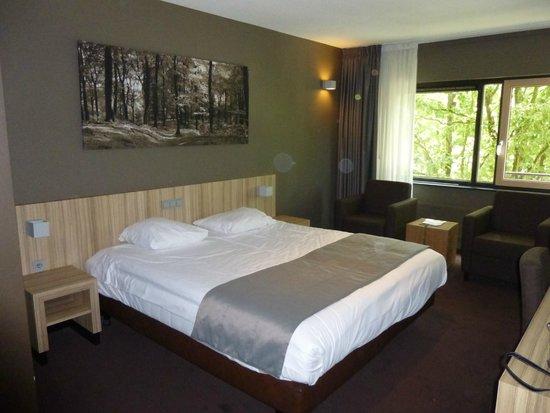 Fletcher Hotel-Restaurant Stadspark: mooie ruime luxe kamer