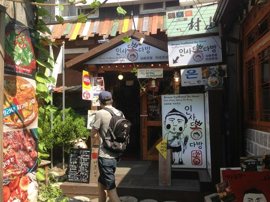 Insa-dong: Insadong tea house