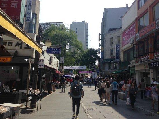 Insa-dong: Insadong stores
