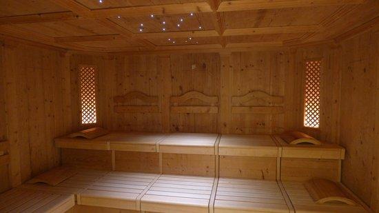 Golfhotel Riederhof: Finnische Sauna