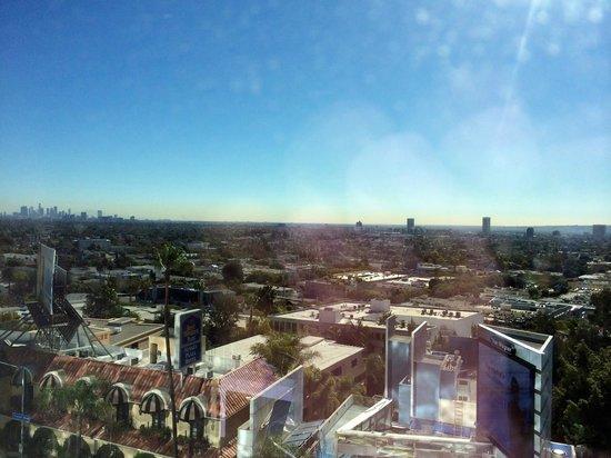 Andaz West Hollywood : Vista de LA