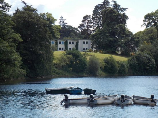 Pitlochry Boating Station Cafe: The Green Park Hotel from the Boating Station : 01 July 2014