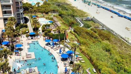 Myrtle Beach Marriott Resort & Spa at Grande Dunes: View from the balcony